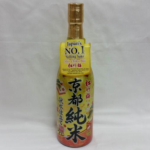 TAKARA SHUZO / JAPANESE SAKE (SHOCHIKUBAI KYOTO FUSHIMIZU JUNMAI) 720ml