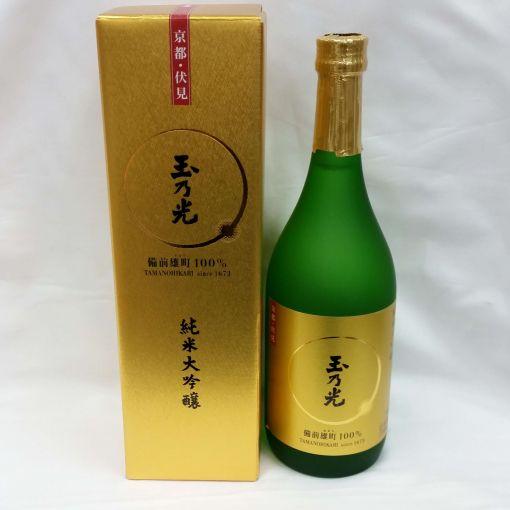 TAMANO HIKARI SHUZO / JP SAKE (JUNMAI DAIGINJO BIZEN OMACHI) 720ml