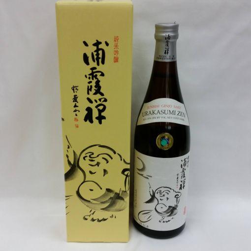 URAKASUMI / JAPANESE SAKE 15.9% (ZEN JYUNMAI GINJYO) 720ml