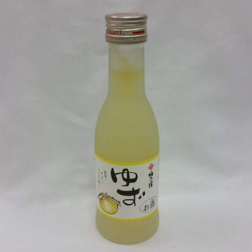 UMENOYADO SHUZO / YUZU LIQUOR 8%ACL (UMENO YADO YUZU SHU) 180ml