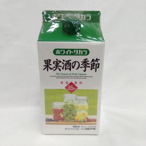TAKARA SHUZO / LIQUEUR (WHITE TAKARA KAJITSUNOKISETSU PAPER PACK) 900ml