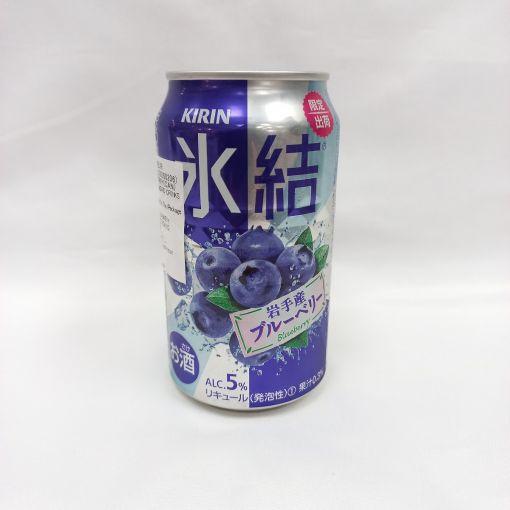 KIRIN BREWERY / CARBONATED LIQUEUR (HYOKETSU BLUEBERRY ) 350ml