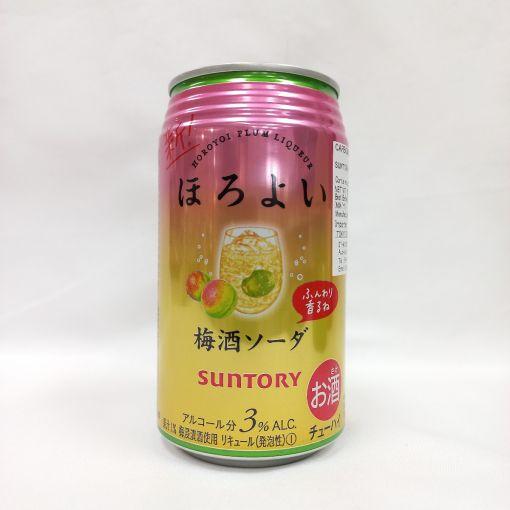 SUNTORY / CARBONATED LIQUEUR (HOROYOI PLUM SODA 350ml