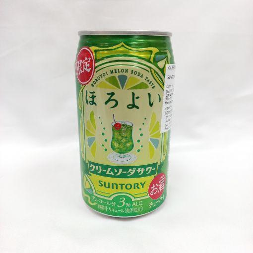 SUNTORY / CARBONATED LIQUEUR (HOROYOI CREAM SODA) 350ml