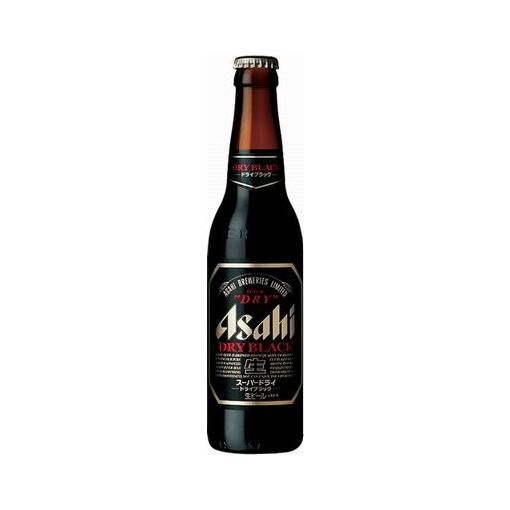 ASAHI BREWERY / SUPER DRY BLACK 334ml