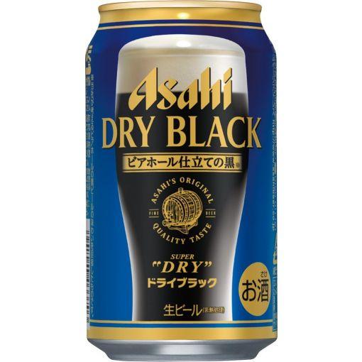 ASAHI / SUPER DRY BLACK 350ml